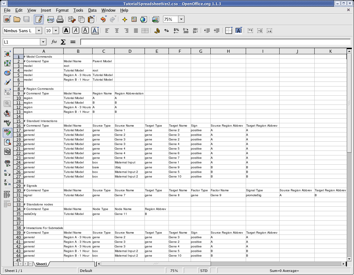 Salon Spreadsheet Template
