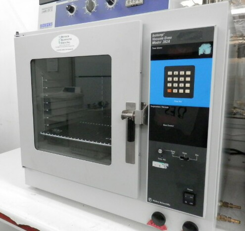 Recently Sold Fisher Scientific Isotemp 282A Vacuum Oven