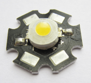 LED used to build a planted aquarium light