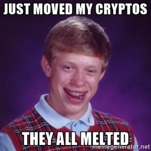 Why did my cryptocoryne die?
