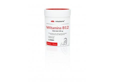 Witamina B12 MSE MAX (120 kaps.)