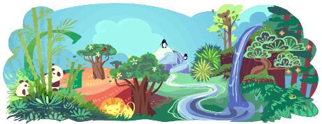 Busca sobre el Día de la Tierra en Google