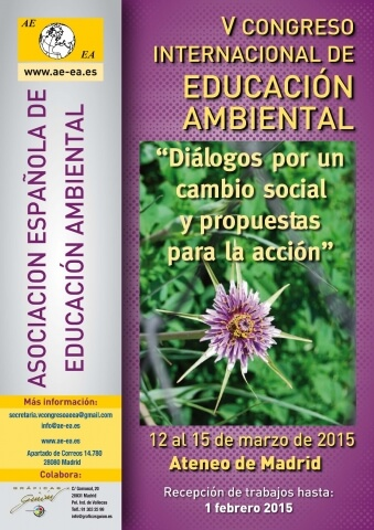V Congreso Internacional de Educación Ambiental