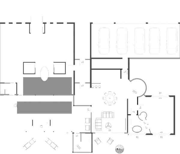 Villa Cristo - Plan