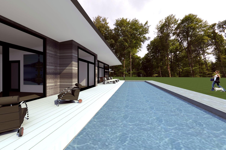 Maison De Plain Pied Villa XO Hommage Richard Meier