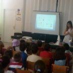 Ομιλίες στο Δημοτικό Σχολείο του Αγίου Κων/νου με θέμα την Ανακύκλωση και την Προστασία του Περιβάλλοντος