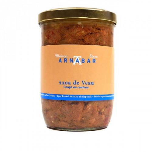 Axoa de veau au piment dEspelette Arnabar