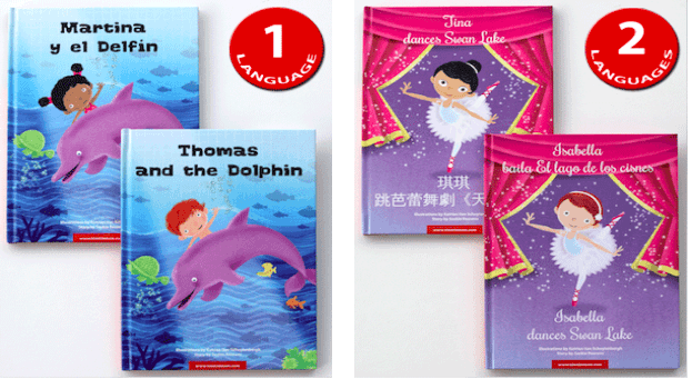 A bilingual book review of Tim Tim Tom Books. These personalized picture books will introduce children to a diverse world of adventure. They are the perfect gift for the little bookworms in your life. Encourage literacy and multilingualism with these incredible adaptations that will help you raise global citizens.