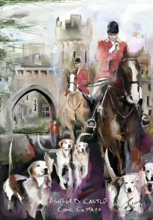 Ashford Castle Print Poster