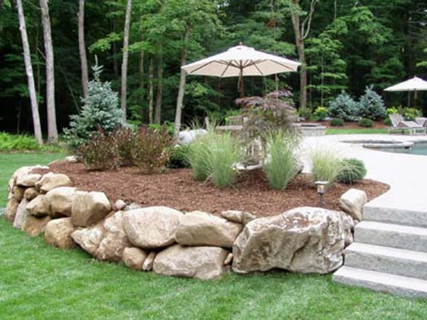 natural stone walls ct landscape