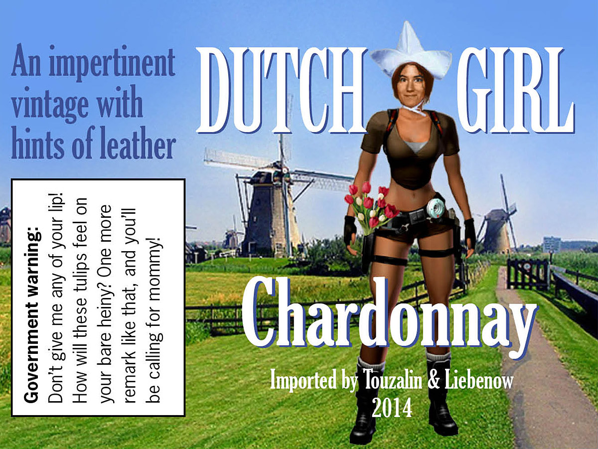 Dutch-Girl-Wine-label