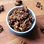 Nutella Cherry Almond Granola