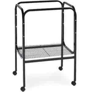 Bird Cage Stand W Shelf by Prevue 444 18X18 Black