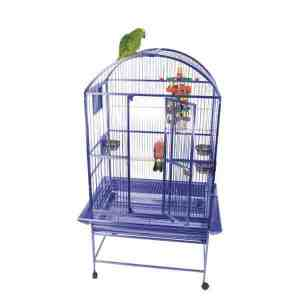 Dome Top Bird Cage for Medium Large Parrots by AE 9003223 Green