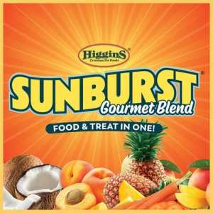 Sunburst® Gourmet Blends are our premium, fortified, natural bird foods