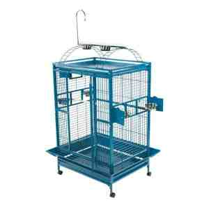 Play Top Bird Cage for Medium Large Parrots by AE 8003628 Platinum