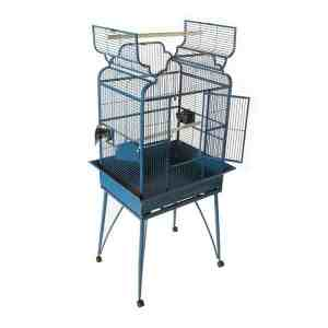 Elegant Top Bird Cage for Smaller Birds by AE B-2620 Black