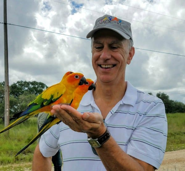 Scientists fundraise for conures