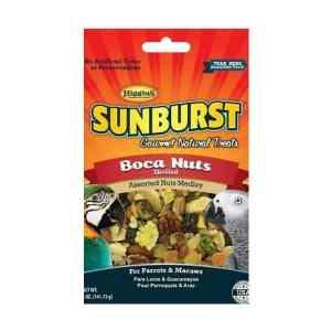 Higgins Sunburst Boca Nuts Shelled Nuts Fruit Parrot Treat 20 lb (9.07 Kg)