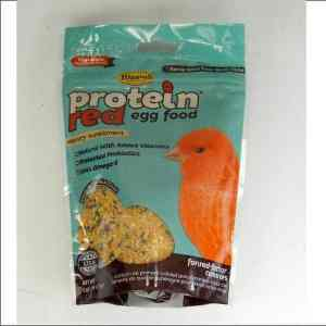 Higgins Protein Red Egg Food For Canaries 5 oz (141.75 g)