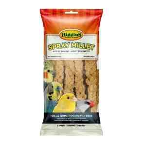 Higgins Naturally Grown Spray Millet for Birds 5 lb (2.267 Kg)