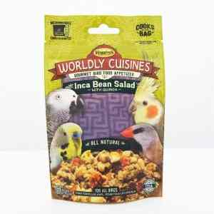 Higgins Worldly Cuisines Inca Bean Microwave In Bag 2 oz (57 G)