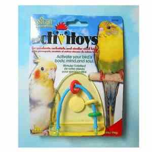 JW Pet Activitoy for Small Birds – Leap Frog Toy