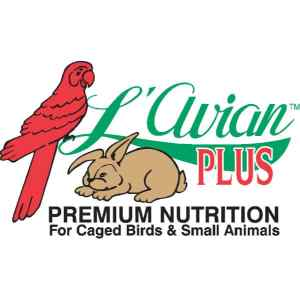 LAvian Plus A complete line of super premium foods and treats for caged birds and small animals.