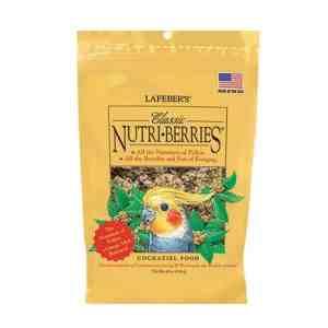 Lafebers Classic Cockatiel Nutri-berries 10 oz (234 G)