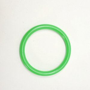 Marbella Style Ring for Bird Toys Crafts 4″ Green 1 pc