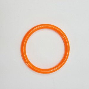 Marbella Style Ring for Bird Toys Crafts 4″ Orange 1 pc
