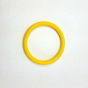 Marbella Style Ring for Bird Toys Crafts 4″ Yellow 1 pc