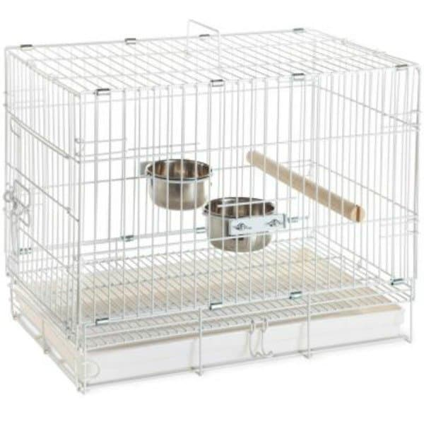 Fold Away Travel Cage Carrier for Smaller Parrots 1305 20×12