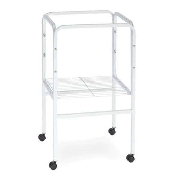 Bird Cage Stand W Shelf by Prevue 445 16×16 White