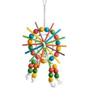 Bodacious Bird Toy for Small to Medium Parrots – Ferris Wheel