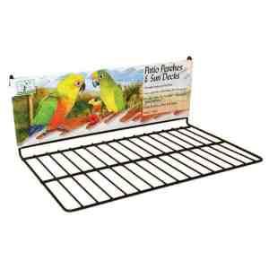 Flat Perch Sun Deck Landing Platform Birds Animals Large