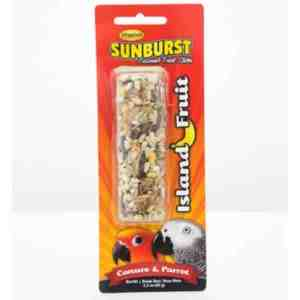 Higgins Sunburst Treat Stick Large Parrots – Island Fruit