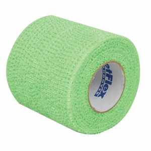 First Aid Self Adhering Tape Vet Wrap No Clips No Adhesive Green