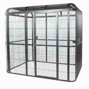 Walk In Indoor Aviary For Medium To Large Parrots by AE WI8662 Black