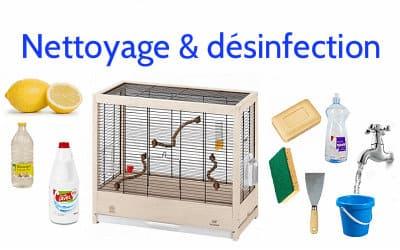 Comment nettoyer la cage de vos oiseaux?