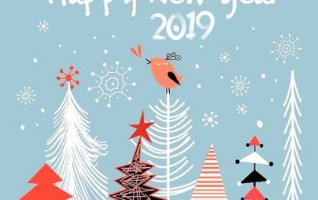 Bonne année 2019-Bird and You