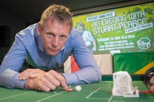 An evening with Stuart Pearce - sports PR Manchester