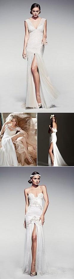 02-Short-wedding-dress-split-front