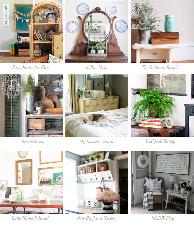 How to use Vintage Pieces with Modern Decor