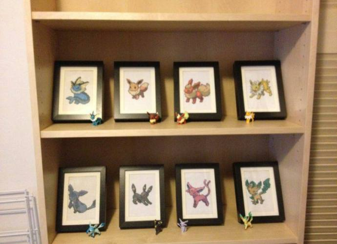 Eeveelutions by Shan B.