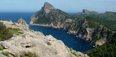 FOrmentor peninsula viewing area, Mallorca