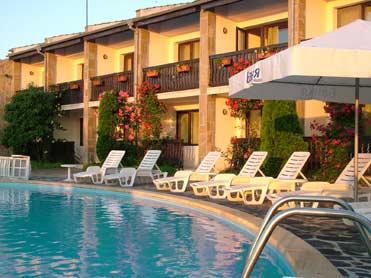 Hotel en la costa del Mar Negro, Bulgaria