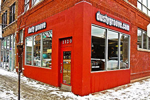 Dusty Groove storefront