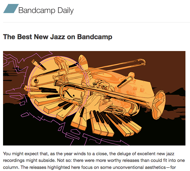 "Now up: November's ""Best of Bandcamp Jazz"" Recommendations"
