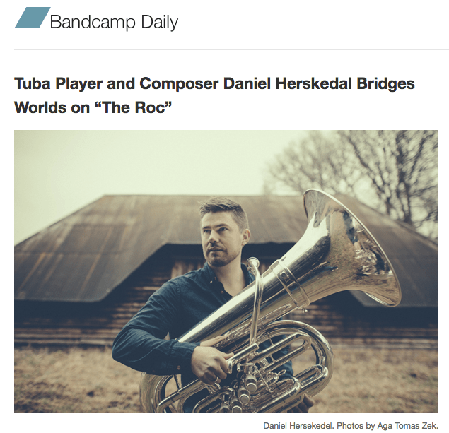 My interview of Daniel Herskedal is up at The Bandcamp Daily